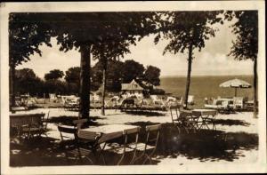 Ak Niendorf in Schleswig Holstein, Hermannshöhe, Restaurant und Café