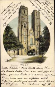 Ak Wrocław Breslau Schlesien, Dom