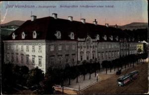 Ak Cieplice Śląskie Zdrój Bad Warmbrunn Riesengebirge Schlesien, Schaffgotsch'sches Schloss