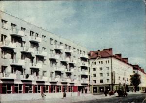 Ak Elbląg Elbing Westpreußen, Ulica Hermanska, Straßenpartie