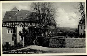 Ak Rauenstein Pockau Lengefeld Erzgebirge, Schloss Rauenstein