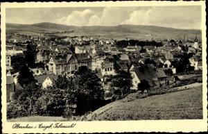 Ak Olbernhau im Erzgebirge Sachsen, Panorama, Teilansicht