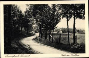 Ak Herrndorf Halsbrücke in Sachsen, Partie am Forsthaus