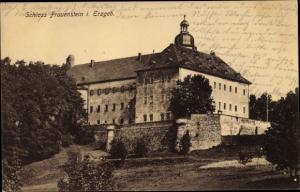 Ak Frauenstein im Erzgebirge, Schloss Frauenstein
