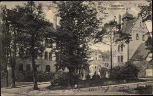 Ak Grudziądz Graudenz Westpreußen, Pionierkaserne