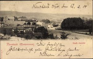 Ak Neustadt Westpreußen, Stadtansicht