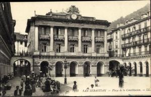 Ak San Sebastian Baskenland, Plaza de la Constitucion