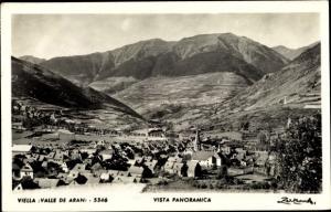 Ak Vielha e Mijaran Katalonien Spanien, Vista panoramica, valle de Aran