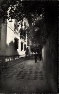 Ak Sevilla Andalusien Spanien, Callejón del Agua