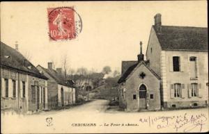 Ak Cerisiers Yonne, La Four à chaux, Kapelle