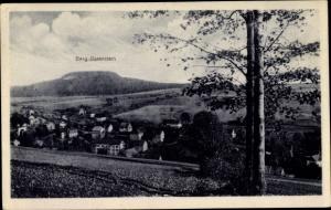 Ak Cranzahl Sehmatal im Erzgebirge, Panorama, Oberer Ort, Berg Bärenstein