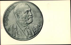 Ak Österreichischer Politiker Georg von Schönerer, Medaille
