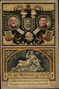 Regiment Ak Reserve Infanterie Rgt. Nr. 120, Wilhelm Ii von Württemberg, Kaiser Wilhelm II