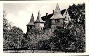 Ak Schmieheim Kippenheim, Blick auf das Schloss
