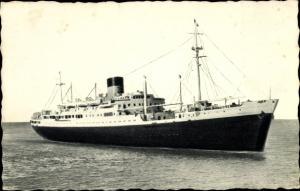Ak Dampfer Laennec oder Charles Tellier, Cie de Navigation Sud Atlantique