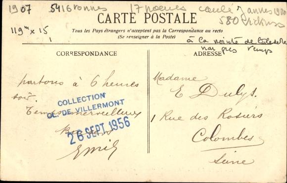 Ak Pauillac Gironde, Dampfer Afrique, Compagnie des Chargeurs Reunis 1
