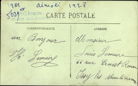 Le Havre Seine Maritime, Dampfer L'Amiral Fourichon, Compagnie des Chargeurs Reunis 1