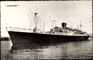 Ak Dampfer Laennec der Compagnie de Navigation Sud Atlantique