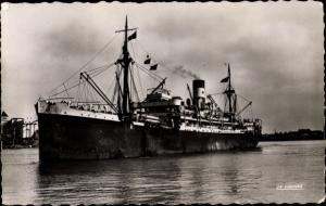 Ak Paquebot Cap Saint Jacques, Dampfschiff, Compagnie des Chargeurs Reunis
