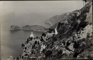 Ak Mallorca Balearen, Miramar, Kapelle, Landschaft