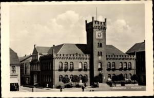 Ak Szczecinek Neustettin Pommern, Rathaus