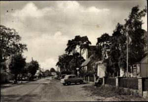 Ak Karlshagen in Mecklenburg Vorpommern, Strassenansicht