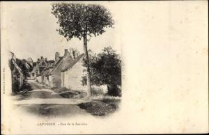 Ak Lavardin Loir et Cher, Rue de la Barriere
