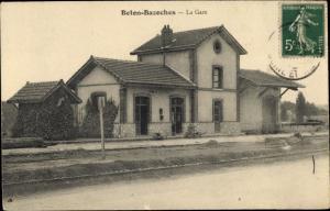 Ak Beton Bazoches Seine et Marne, La Gare
