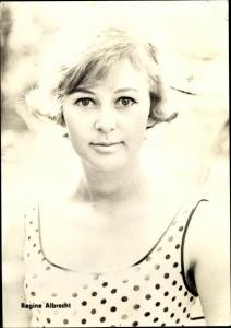 Ak Schauspielerin Regine Albrecht