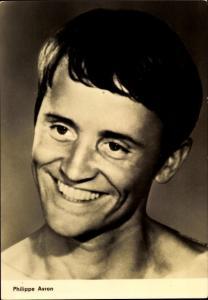 Ak Schauspieler Philippe Avron, Portrait