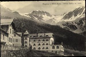 Ak Südtirol, Angeres's Hotel Posta, Ortles Solda