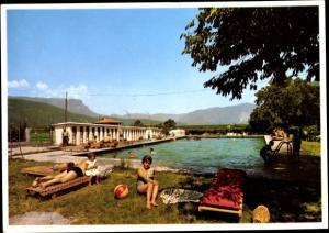 Ak Leifers Laives Südtirol, Schwimmbad, Gasthof Steiner