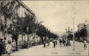 Ak Cordoba Andalusien Spanien, Straßenpartie, El Gran Capitan
