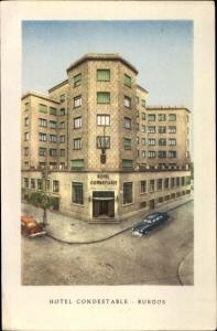 Künstler Ak Burgos Kastilien und León, Hotel Condestable