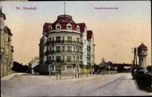 Ak Wiener Neustadt in Niederösterreich, Neunkirchner Straße, Wasserturm