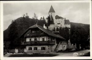 Ak Mauterndorf in Salzburg, Schloss Mauterndorf im Lungau