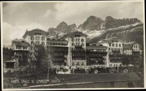 Ak Lago di Carezza Karersee Südtirol, Hotel Lago di Carezza