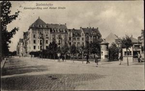 Ak Thionville Diedenhofen Lothringen Moselle, Karolinger Ring und Metzer Straße