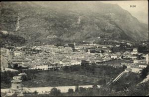 Ak Susa Suse Piemonte Italien, Gesamtansicht