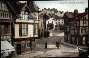 Ak Bowness-on-Windermere North West England, Ortspartie
