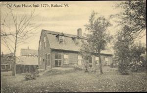 Ak Rutland England, Old State House