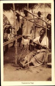 Ak Togo, Tisserand du Togo