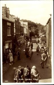 Ak Heysham Village England, Main Street