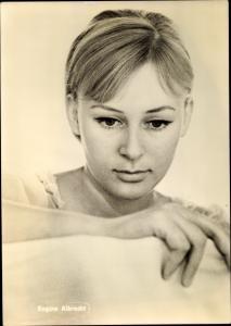 Ak Schauspielerin Regine Albrecht, Portrait, Defa Film, Heißer Sommer