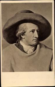 Künstler Ak Tsichbein, J. H. W., Schriftsteller Johann Wolfgang von Goethe