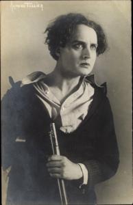 Ak Schauspieler Armand Tallier, Portrait