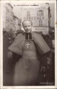 Ak Monsieur Marbeau, clerc