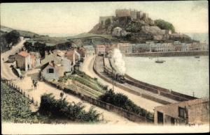 Ak Kanalinsel Jersey, Mont Orgueil Castle