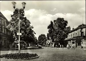 Ak Königs Wusterhausen in Brandenburg, Bahnhofstraße, Bahnhofshotel