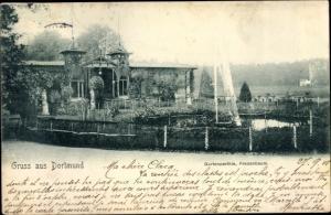Ak Dortmund im Ruhrgebiet, Gartenpartie, Fredenbaum